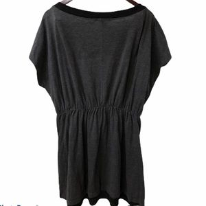 Delicious Tops - Delicious Blouse Black and Grey Size 3X